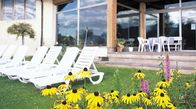 Relax in the green park of Hotel Tenz, in South Tyrol