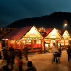 The traditional christmas markets of South Tyrol