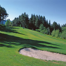 18-hole golf course at Petersberg Golf Club